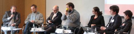 Podiumsdiskussion (mit  Jan Mönikes) beim IGF Vorbereitungstreffen