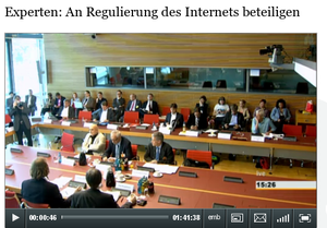 Video vom Hearing