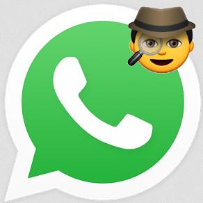 Whatsapp-Logo mit Schlapphut